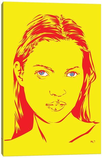 Kate Moss Canvas Print #TDR135