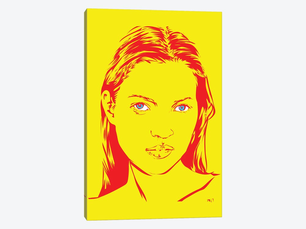 Kate Moss by TECHNODROME1 1-piece Canvas Print