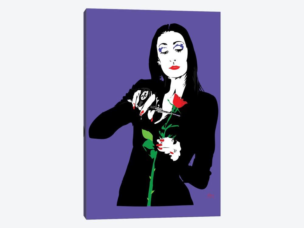 Morticia Addams by TECHNODROME1 1-piece Canvas Art