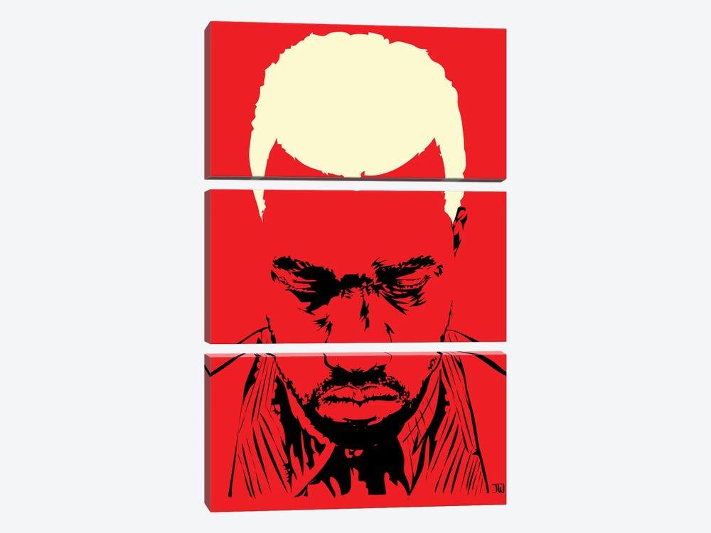 Pablo Yeezy by TECHNODROME1 3-piece Canvas Wall Art