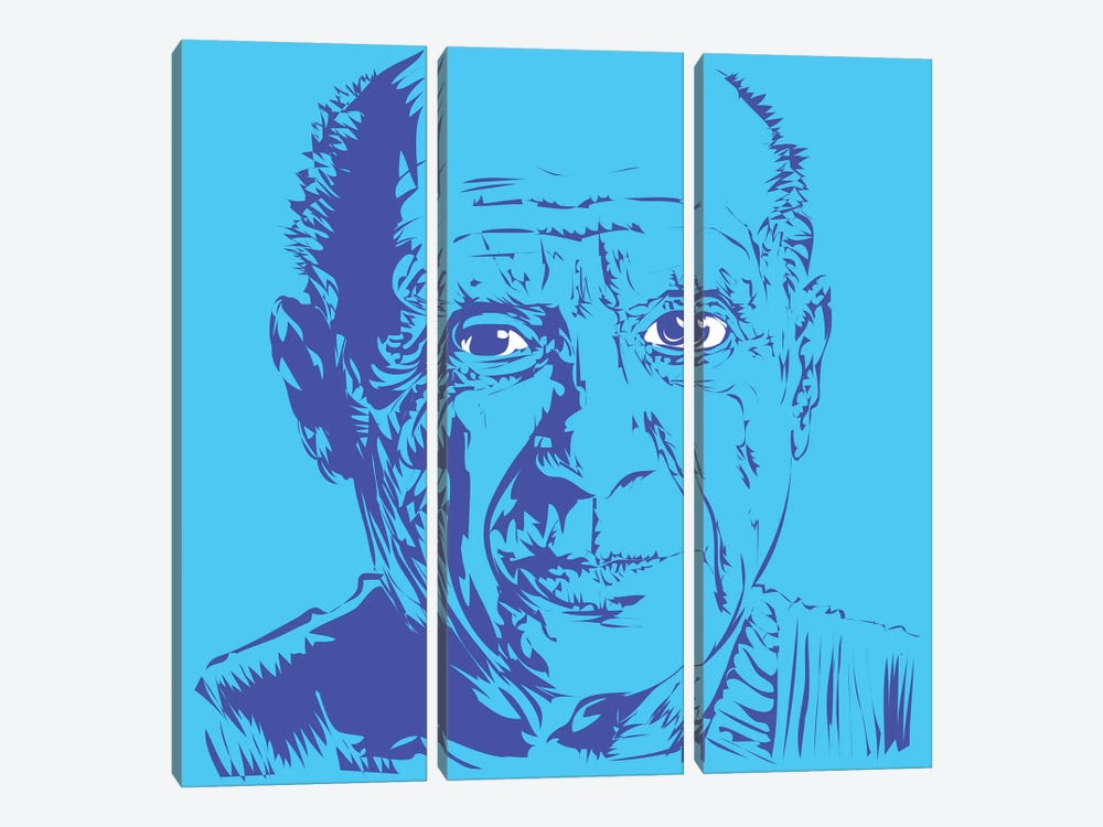 Picasso 3-piece Canvas Print