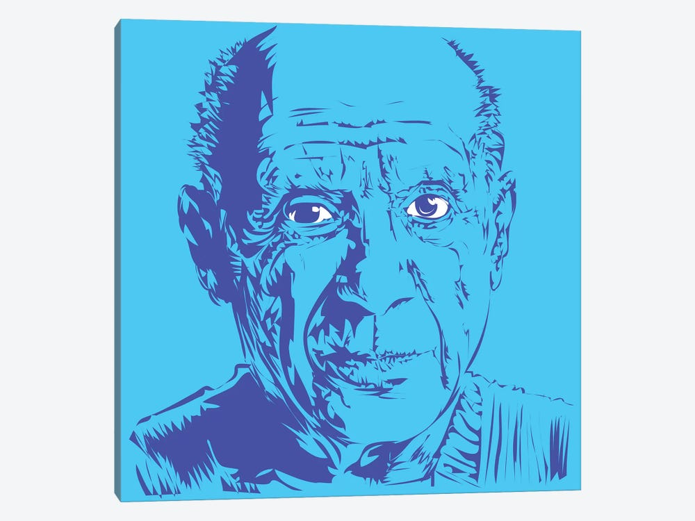 Picasso by TECHNODROME1 1-piece Canvas Print