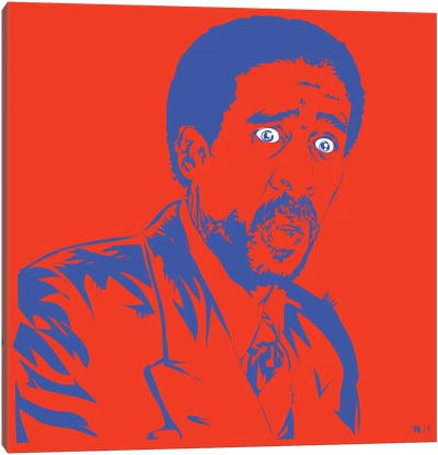 Richard Pryor Canvas Art Print