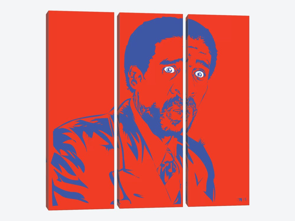 Richard Pryor by TECHNODROME1 3-piece Art Print