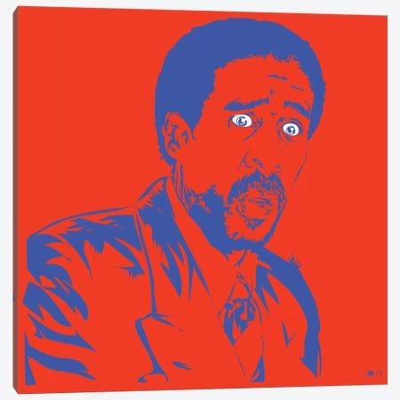 Richard Pryor Canvas Print #TDR140} by TECHNODROME1 Canvas Print