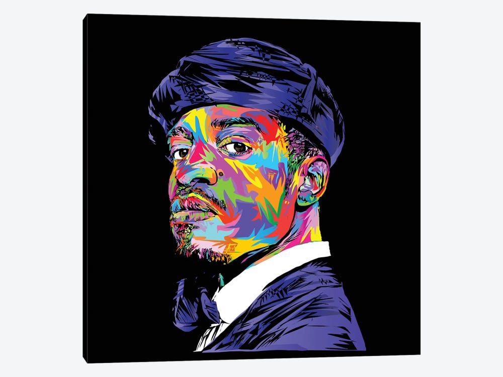 André 3000 by TECHNODROME1 1-piece Canvas Art Print