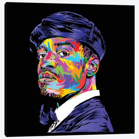 André 3000 Canvas Print #TDR144} by TECHNODROME1 Canvas Wall Art