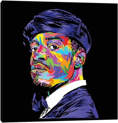 André 3000 Canvas Art Print