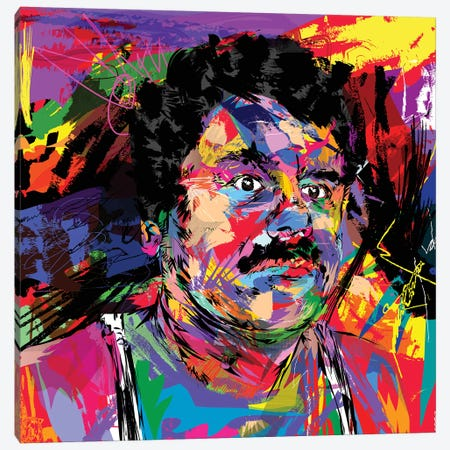 El Chapo Canvas Print #TDR145} by TECHNODROME1 Canvas Artwork