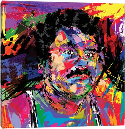 El Chapo Canvas Art Print
