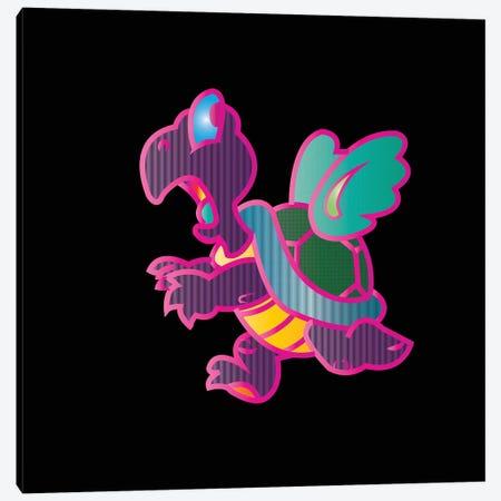 Flying Turtle Canvas Print #TDR146} by TECHNODROME1 Canvas Artwork