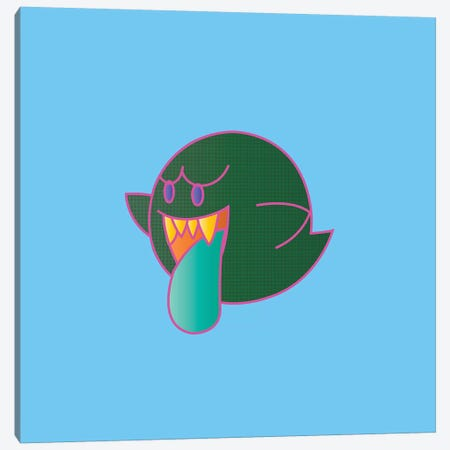 Ghost Canvas Print #TDR147} by TECHNODROME1 Canvas Wall Art