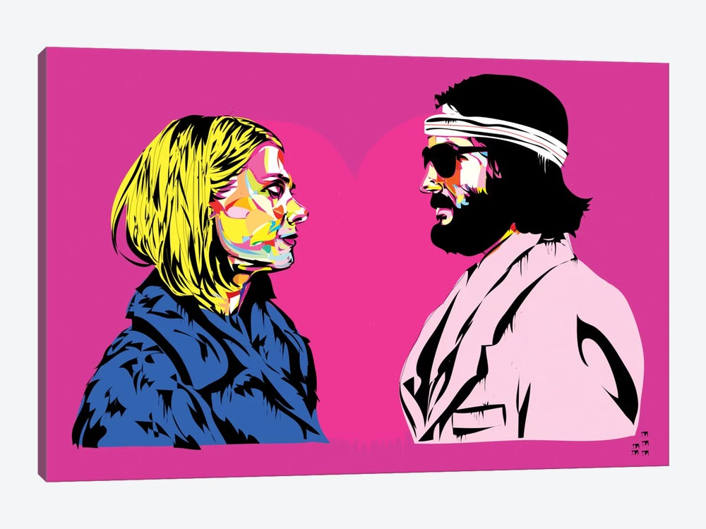 Bomber y Margo by TECHNODROME1 1-piece Canvas Print