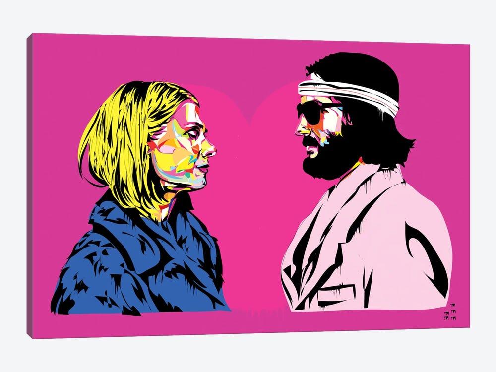 Bomber y Margo by TECHNODROME1 1-piece Canvas Print