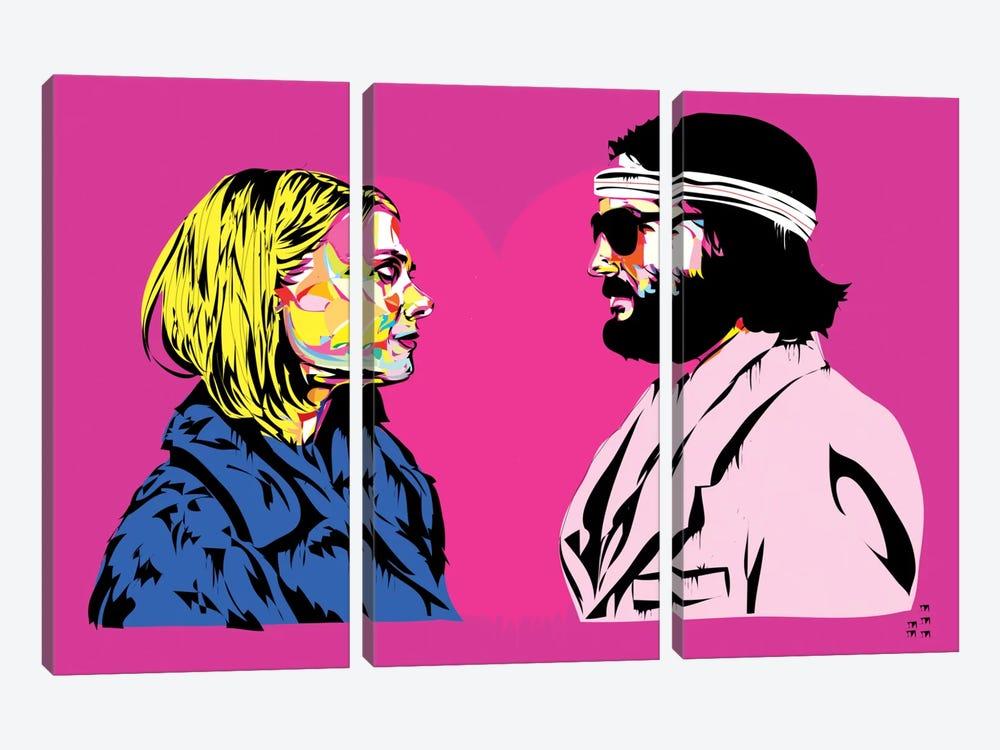 Bomber y Margo by TECHNODROME1 3-piece Art Print