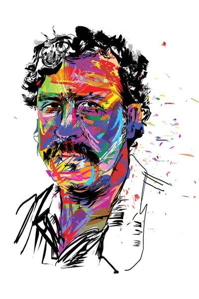 Pablo Escobar Canvas Print By Technodrome1 Icanvas