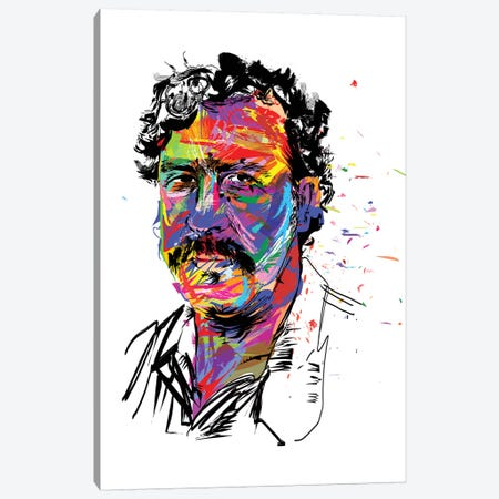 Pablo Escobar Canvas Print #TDR150} by TECHNODROME1 Canvas Artwork