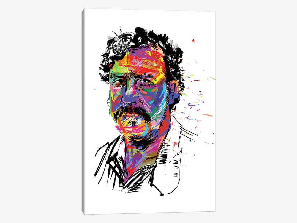 Pablo Escobar by TECHNODROME1 1-piece Canvas Wall Art