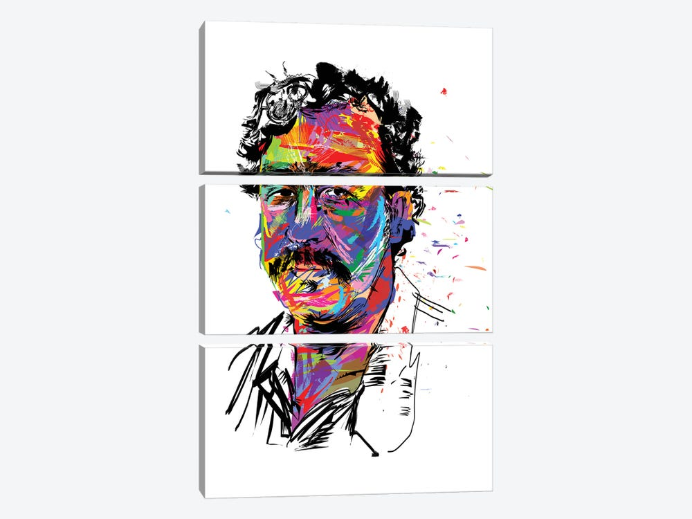 Pablo Escobar 3-piece Canvas Artwork