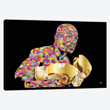 Pretty Boy Floyd Canvas Print #TDR153} by TECHNODROME1 Canvas Artwork