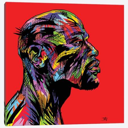 Floyd Maydrome Canvas Print #TDR154} by TECHNODROME1 Canvas Print
