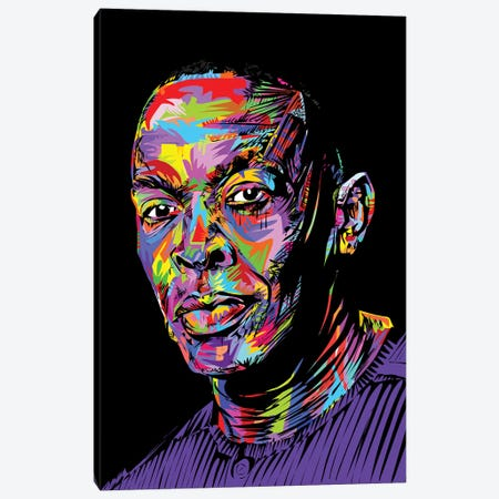 Dr. Dre Canvas Print #TDR155} by TECHNODROME1 Art Print