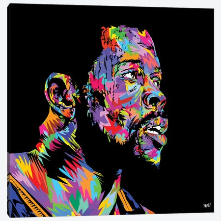 Ewing 3-Piece Canvas #TDR156} by TECHNODROME1 Canvas Print