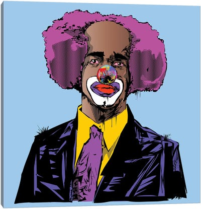 Homey D. Clown Canvas Art Print