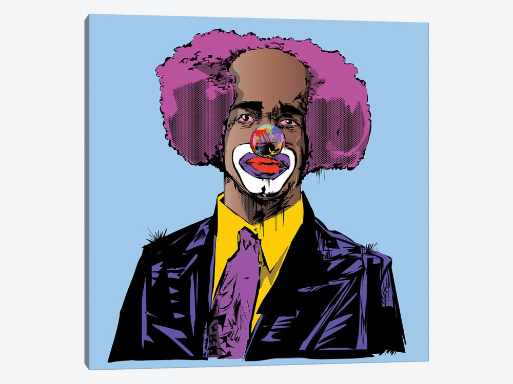 Homey D. Clown by TECHNODROME1 1-piece Canvas Art