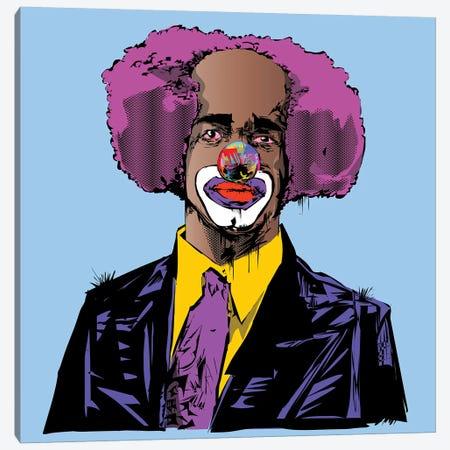 Homey D. Clown Canvas Print #TDR158} by TECHNODROME1 Canvas Artwork