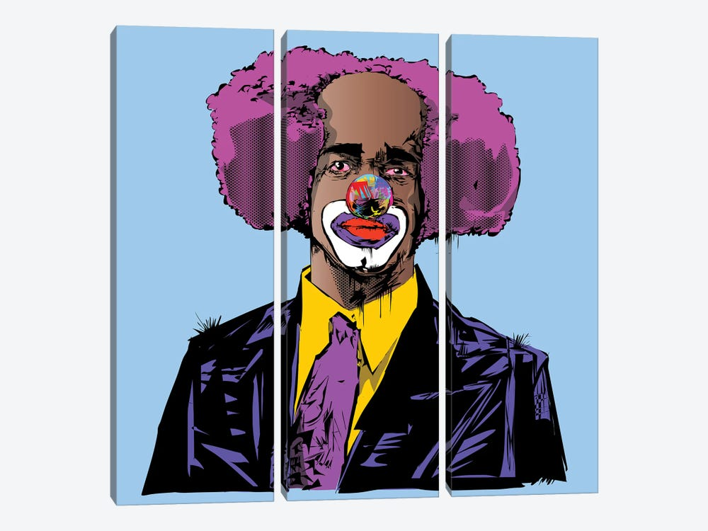 Homey D. Clown by TECHNODROME1 3-piece Canvas Art