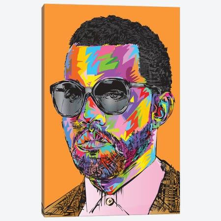 Kanye Old Canvas Print #TDR159} by TECHNODROME1 Canvas Artwork