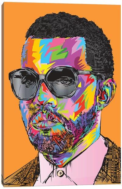 Kanye Old Canvas Art Print