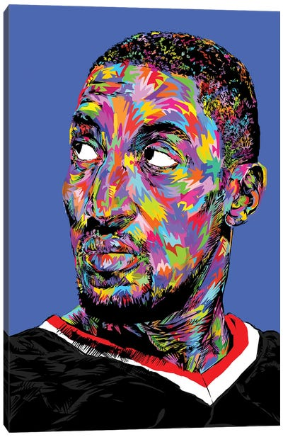 Scottie Pippen Canvas Art Print