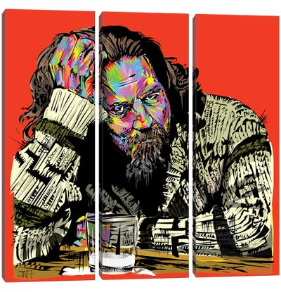 The Dude Canvas Art Print