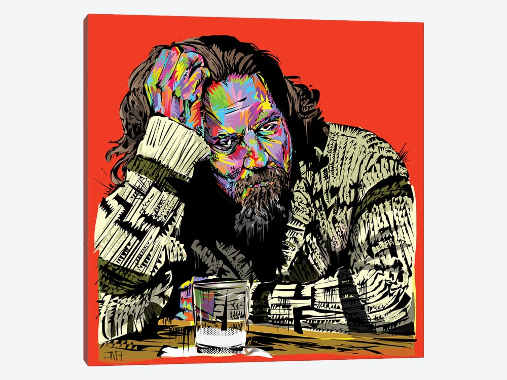 The Dude 1-piece Canvas Wall Art