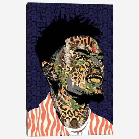 21 Savage Canvas Print #TDR168} by TECHNODROME1 Canvas Print