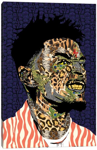 21 Savage Canvas Art Print
