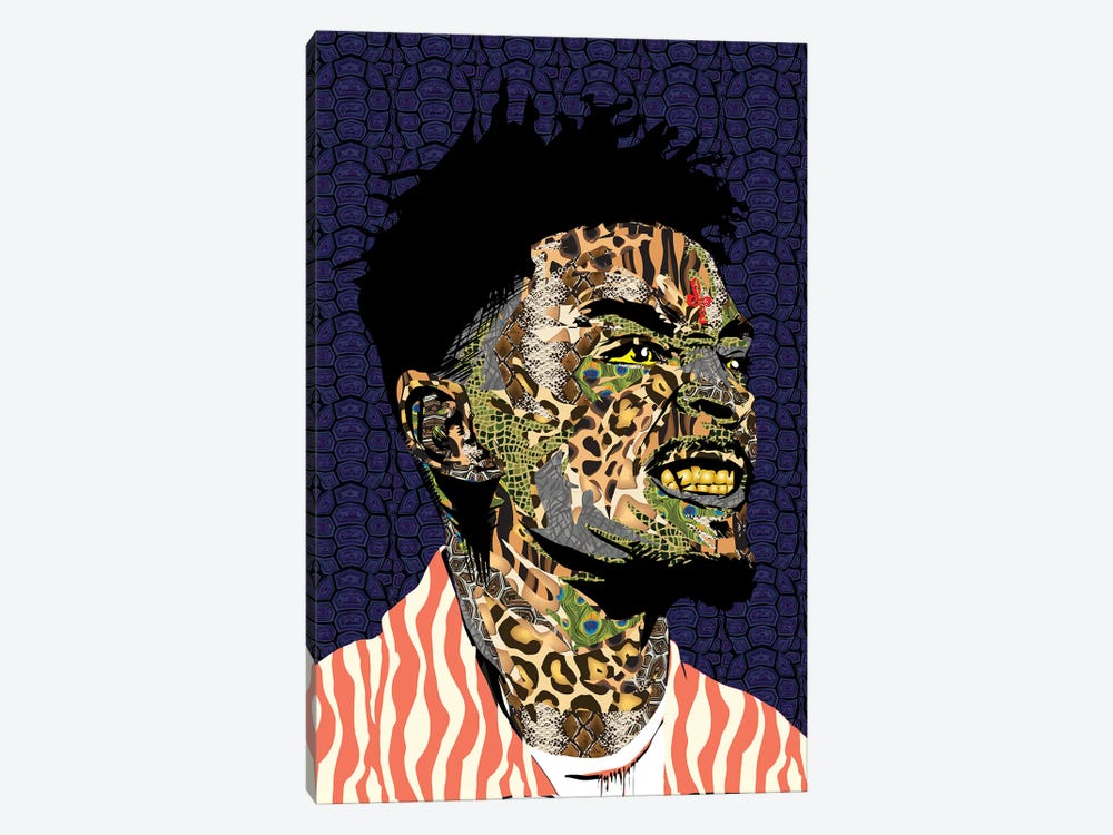 21 Savage by TECHNODROME1 1-piece Canvas Art Print