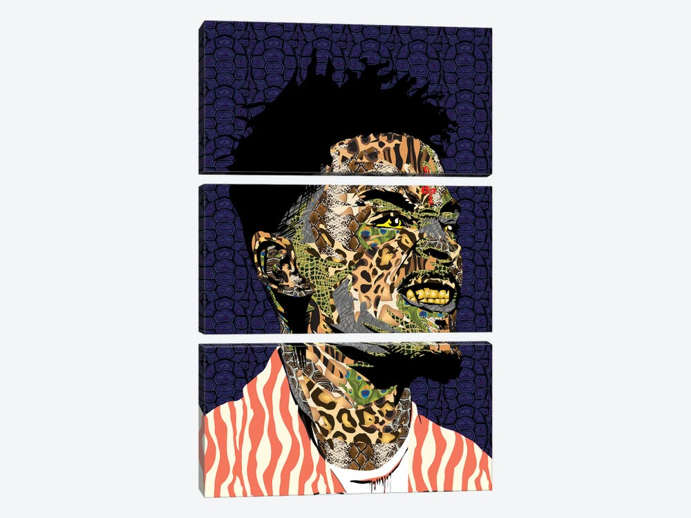 21 Savage by TECHNODROME1 3-piece Art Print