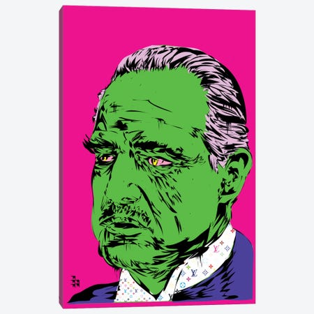 Brando Canvas Print #TDR16} by TECHNODROME1 Canvas Wall Art