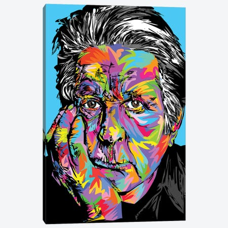 Brian Wilson Canvas Print #TDR170} by TECHNODROME1 Canvas Wall Art