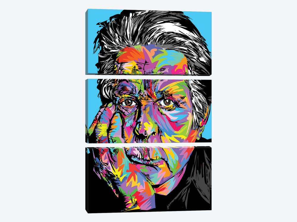 Brian Wilson by TECHNODROME1 3-piece Canvas Wall Art