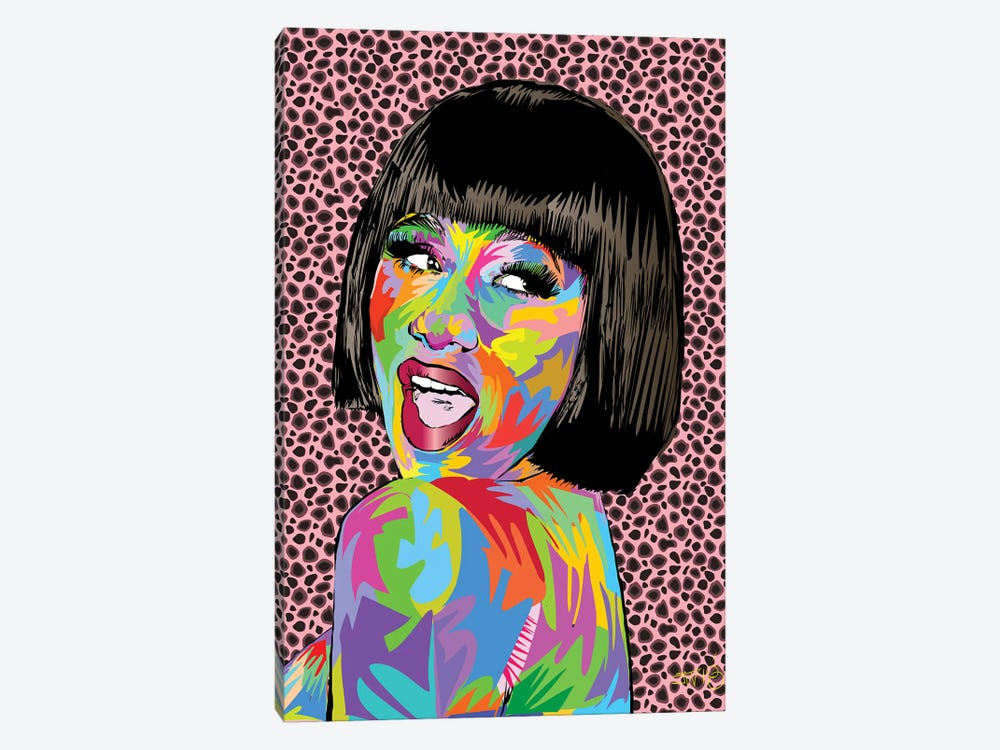 Cardi B. by TECHNODROME1 1-piece Canvas Print