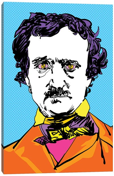 Edgar Allan Canvas Art Print
