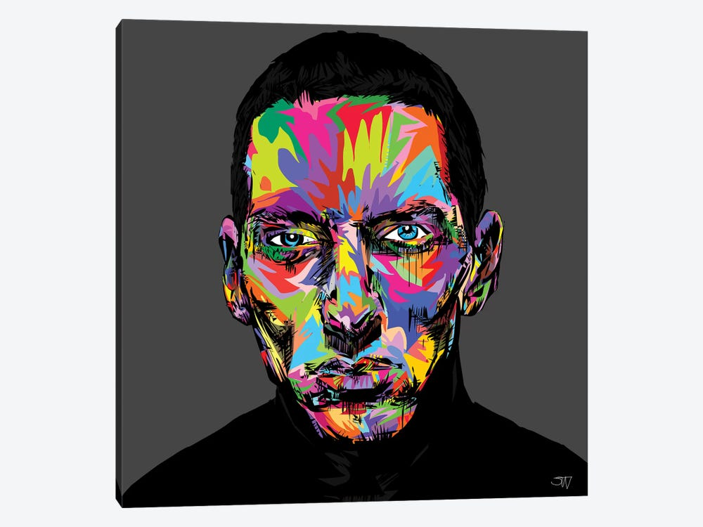 Eminem by TECHNODROME1 1-piece Canvas Art
