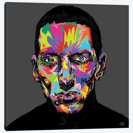 Eminem Canvas Print #TDR176} by TECHNODROME1 Art Print