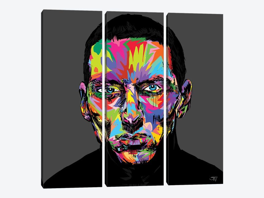 Eminem by TECHNODROME1 3-piece Canvas Art