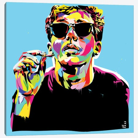 Breakfast Club I Canvas Print #TDR17} by TECHNODROME1 Canvas Artwork