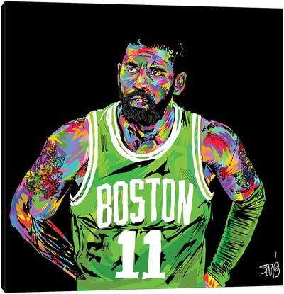 Kyrie Irving Canvas Art Print